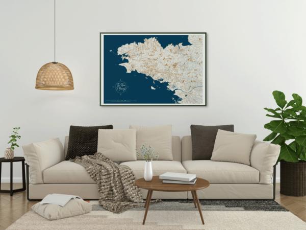 Poster Bretagne