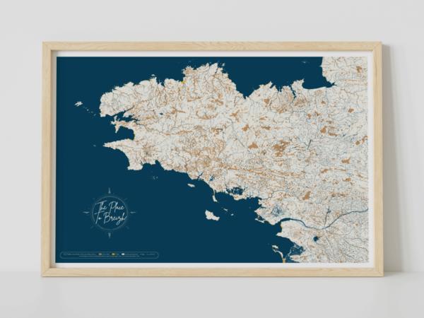 Affiche de la Bretagne